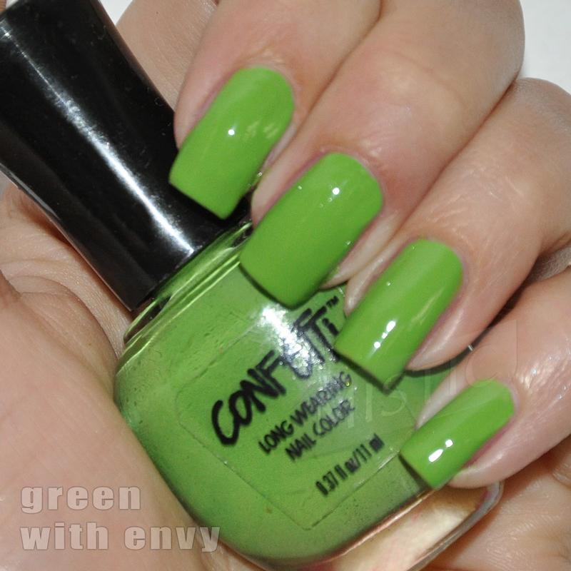 Confetti Green with Envy
