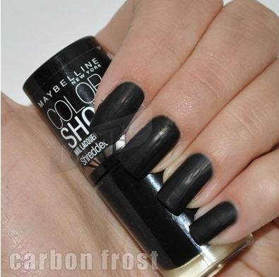 Maybelline Carbon Frost