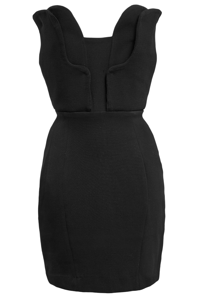 33. sukienka mała czarna